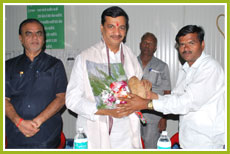 Award by Agriculture Minister (Maharashtra)